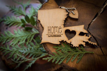 z State Key Chains, Name & Gift Tags - Louisiana