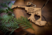 z State Key Chains, Name & Gift Tags - Maryland