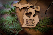 z State Key Chains, Name & Gift Tags - Michigan