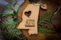 z State Key Chains, Name & Gift Tags - Mississippi