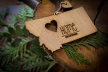z State Key Chains, Name & Gift Tags - Montana