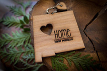 z State Key Chains, Name & Gift Tags - New Mexico