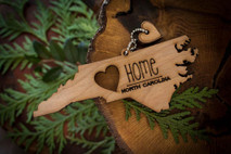 z State Key Chains, Name & Gift Tags - North Carolina
