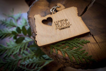 z State Key Chains, Name & Gift Tags - Oregon