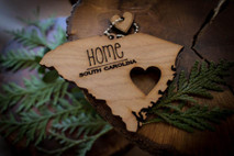 z State Key Chains, Name & Gift Tags - South Carolina