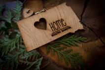 z State Key Chains, Name & Gift Tags - South Dakota