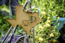 z State Key Chains, Name & Gift Tags - Texas