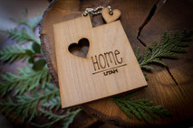 z State Key Chains, Name & Gift Tags - Utah