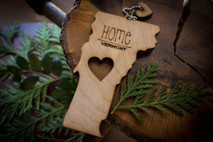 z State Key Chains, Name & Gift Tags - Vermont