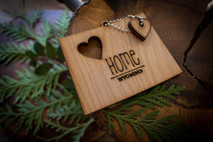 z State Key Chains, Name & Gift Tags - Wyoming