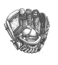 DS - Baseball Glove (8x10)