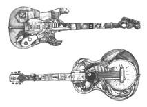 DS - Blues Guitars (12x16)