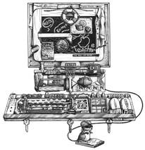 DS - Computer (16x20)