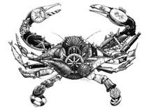 DS - Blue Crab (16x20)