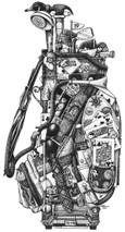 DS - Golf Bag (12x16)