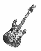 DS - Guitar - Rocks (11x14)
