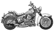 DS -  Motorcycle - Fast Food (8.5x14)