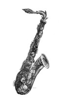 DS - Saxophone - Musical Scales (8.5x14)
