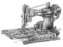 DS - Sewing Machine (11x14)