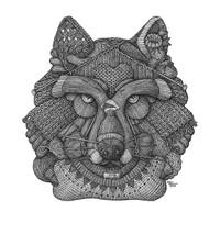 DS - Wolf (17x22)