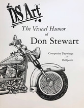 """aDS Art - Book  """"The Visual Humor of Don Stewart"""""""