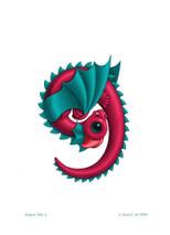 SEB - Baby Dragon Letter - G