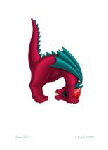 SEB - Baby Dragon Letter - H