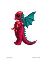 SEB - Baby Dragon Letter - K