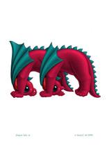 SEB - Baby Dragon Letter - M