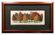 Trails & Trees Original - Framed 37x23
