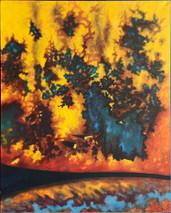 Item #01 - O.M. #7 - Oil on Canvas - Amy Wheeler