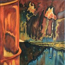 Item #03 - O.M. #5 - Oil on Canvas - Amy Wheeler