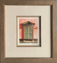 Item #19 - Origianl Italian Window - Phil Ponder (No Longer Available)