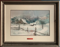 Item #40 - Foothills - original watercolor - Michael Sloan