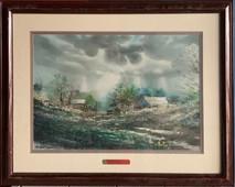 Item #41  - Resurrection Watercolor - Michael Sloan