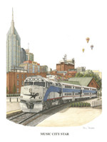 Music City Star LE - Unframed 18x23 (retail $60.00)