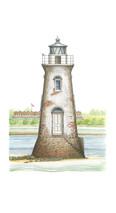 PP Lighthouse - Cockspur Island, Georgia