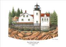 PP Lighthouse - Bass Harbor Head Light - Maine