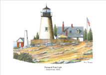 PP Lighthouse - Permaquid Point, Maine