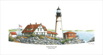 PP Lighthouse - Portland, Maine