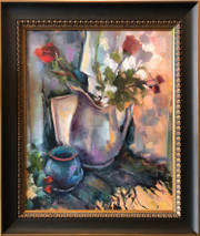 SB - A Rose is a Rose - Original Oil on canvas - SOLD