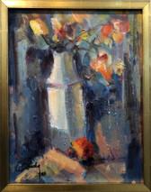 SB - Yellow Rose - Original Oil on canvas