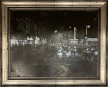 RJ - Nashville Church Street - Framed - Original Oil on canvas