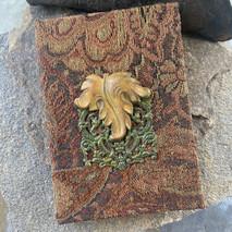 RV - Brass Leaf 5x7 Journal