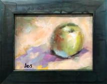 SB - Green Apple - Original Oil on canvas