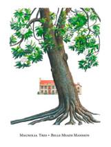 Tree Trunks - Belle Meade Mansion