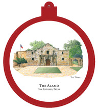 Alamo - San Antonio Texas Ornament