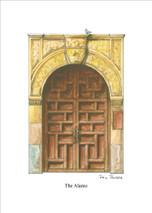 PP Alamo Door - San Antonio Texas