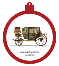 Hermitage - Andrew Jackson's Carriage Ornament - Retiring