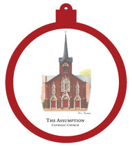 Assumption Catholic Church Ornament
